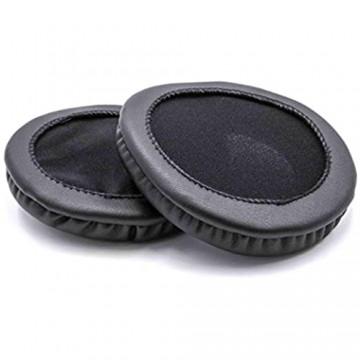 vhbw Ohrpolster Ersatz Polster 10cm passend für AKG K271 MK II K271s K280 K280 Parabel K290 K340 Kopfhörer Headset; schwarz