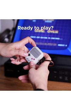 elago AW5 Case mit Karabiner Kompatibel mit AirPods Hülle 1 & 2 Ladecase - Design in der klassischen Handheld-Spielekonsole Schutzhülle Patent Angemeldet (Grau)