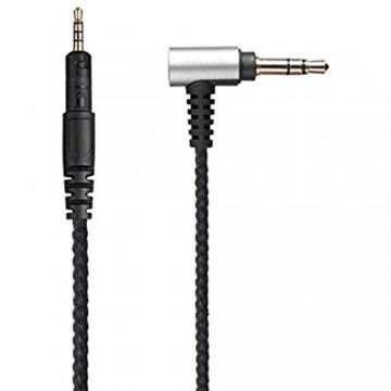 YUYAN Ersatz-Kopfhörerkabel – Audiokabel Verlängerungskabel für ATH-M40x M50x M60x Wired Gaming Kopfhörer Headset
