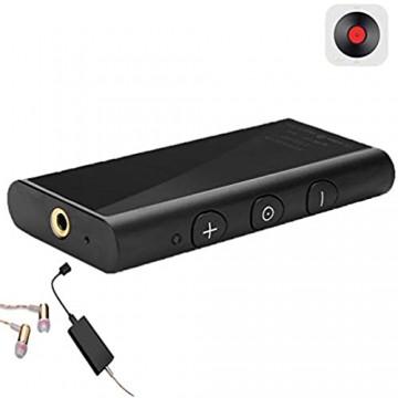 Topiky Bluetooth 5.0 Kopfhörerverstärker Tragbarer 3 5mm Audio Kopfhörerverstärker 26 Stunden Lebensdauer CSR8675 24Bit/DAC+Verlustfreies HiFi Audio AMP Unterstützung aptX-HD aptX-LL aptX AAC SBC
