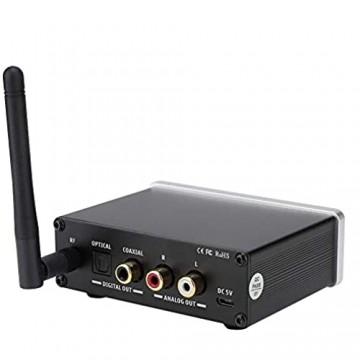 VBESTLIFE Bluetooth 5.0 USB DAC Audio Decoder Kopfhörer Digitalverstärker mit Verstärker unterstützt APT-X APT-X LL