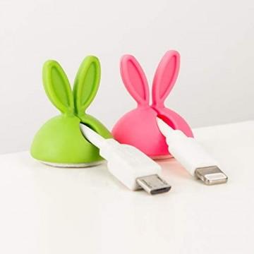 Cable Candy - Kabelhalter und Kabelführung - Beans (Bunny)