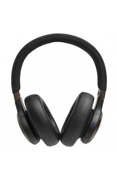 JBL LIVE 650BTNC kabellose Over-Ear Kopfhörer in Schwarz – Bluetooth Ohrhörer mit Noise Cancelling langer Akkulaufzeit und Alexa-Integration – Unterwegs Musik hören und telefonieren