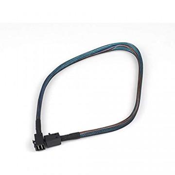 SamTones Internes Mini-Sas HD Sff-8643 auf Sff-8643 Kabel 0 5 m