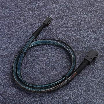 Socobeta Tragbares einfach zu verwendendes Minikabel Hochdichtes Serverkabel SAS38P zu SFF-8643 Kabel Computerübertragungskabel für Host für Server für Computer