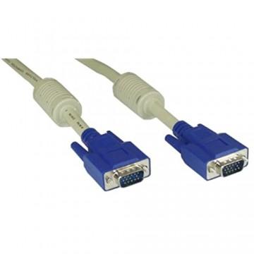 InLine 17803 S-VGA Kabel 15pol HD Stecker / Stecker beige 0 3m