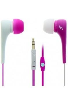 T'nB Asymetrik In-Ear-Kopfhörer Rosa/Weiß