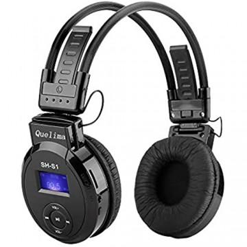 Wireless Headset Funkkopfhörer Over-Ear Optisch TV Kopfhörer Kabellos mit 2.4GHz Sender 3 Verbindungsmöglichkeiten Wiederaufladbar Kopfhörer für Fernseher/PC/Radio/Handy