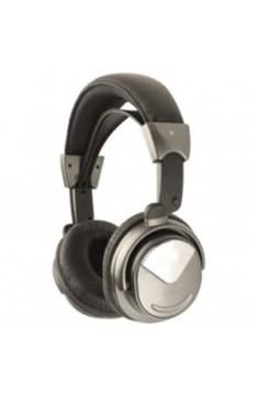HiFi-Stereo-Kopfhörer Super-Bass und Leder-Kopfbügel