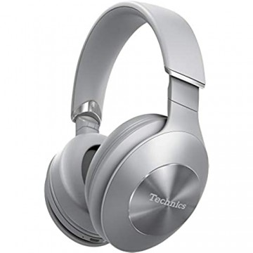 Technics EAH-F70N Noise Cancelling Bluetooth Premium Kopfhörer (High Resolution Tragesensor 20h Akku Quick-Charge) silber