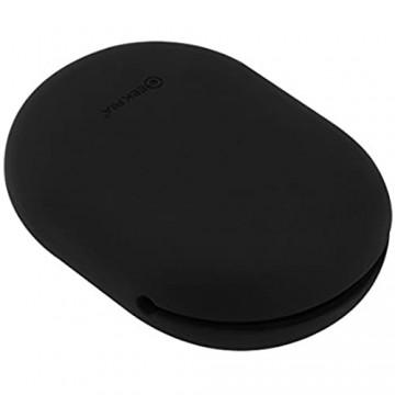 Geekria Silikon-Schutzhülle für PowerBeats Jabra Sport Pace SoundSport In-Ear Ohrhörer-Schutz Quetschtasche/Tasche weiche Kopfhörer-Aufbewahrungstasche (schwarz Größe M 2 Stück)