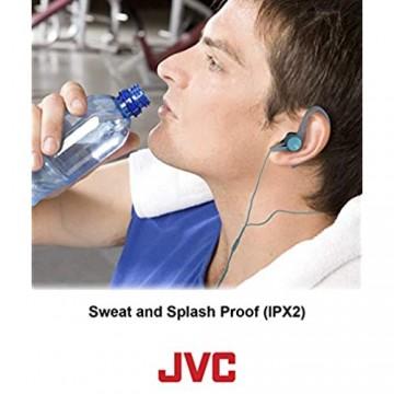 JVC leichter tragbarer On-Ear-Kopfhörer mit Fernbedienung und Mikrofon – Schwarz